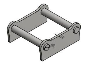 Geel SW030 ohne Haltenasen (20mm)