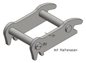 Martin M10 mit Haltenasen (20mm)